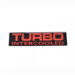 Emblema Turbo Intercooled